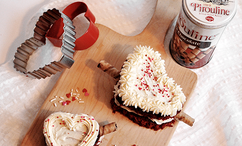 Red Velvet Cupid Cakes