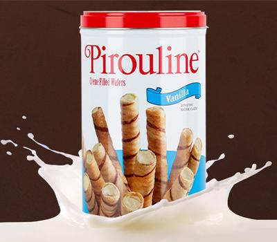 Vanilla Creme Filled Wafer Cookies