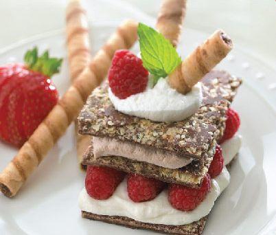 Crème de Pirouline Napoleon