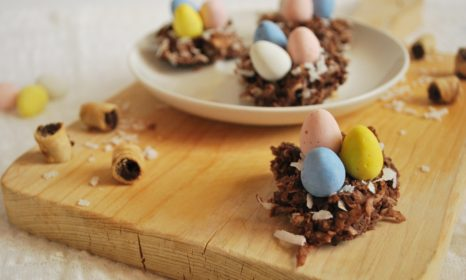 Coconut Easter Nests