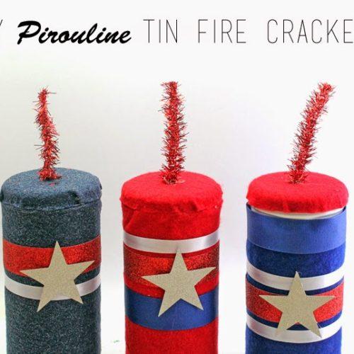 Pirouline Tin Firecrackers