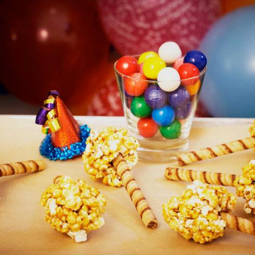 Pirouline Cookie Caramel Popcorn Balls