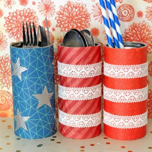 Pirouline 4th of July Picnic Tins