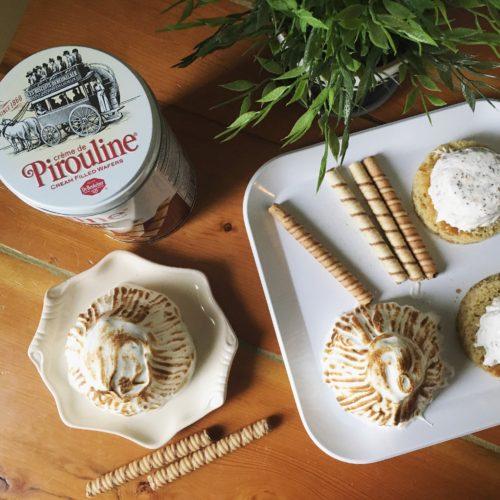 Pirouline Mini Baked Alaskas