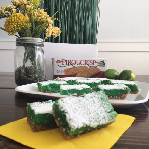 Piroucrisp Lime Bars
