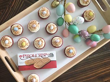 Piroucrisp Carrot Cupcakes