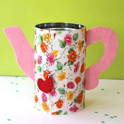 DIY Mother's Day Teapot Tin
