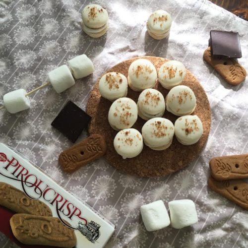 Piroucrisp S'mores Macarons
