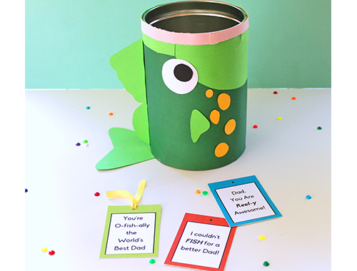 DIY Father's Day Fish Tin