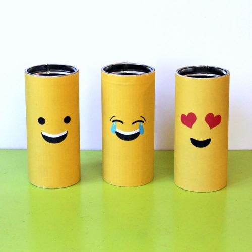 DIY Emoji Tins