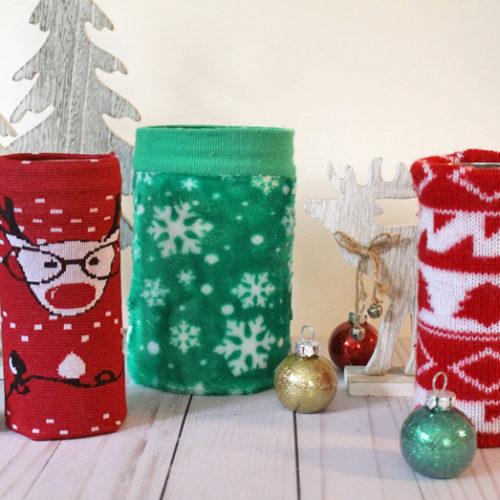Christmas Sweater Pirouline Tins