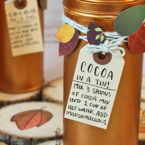 DIY Gift: Hot Cocoa in a Tin