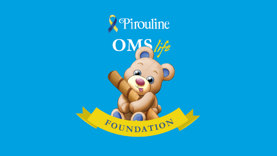 Pirouline Gives Back: OMS Life Foundation